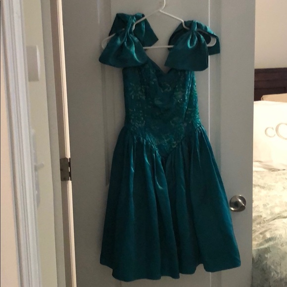 Vintage 80s party/prom dress!